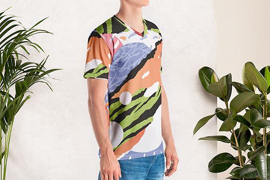 Camisetas all over únicas