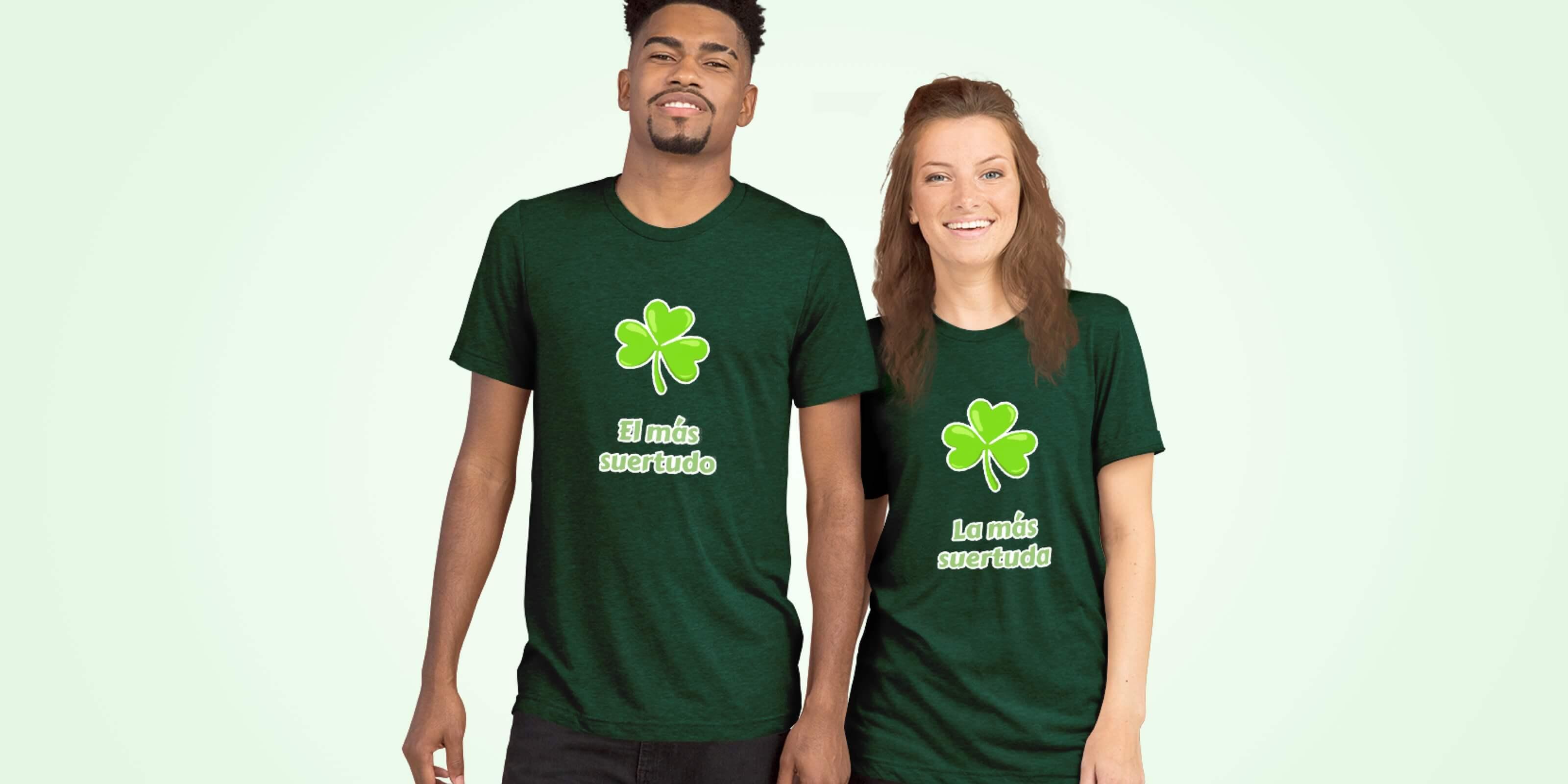Camisetas de San Patricio