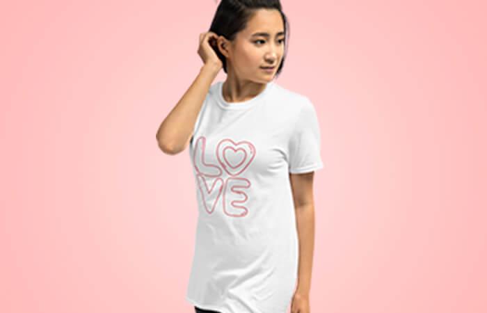 ホワイトデープレゼント オリジナルTシャツ